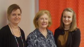 La mère, ls présidente et la lauréate
